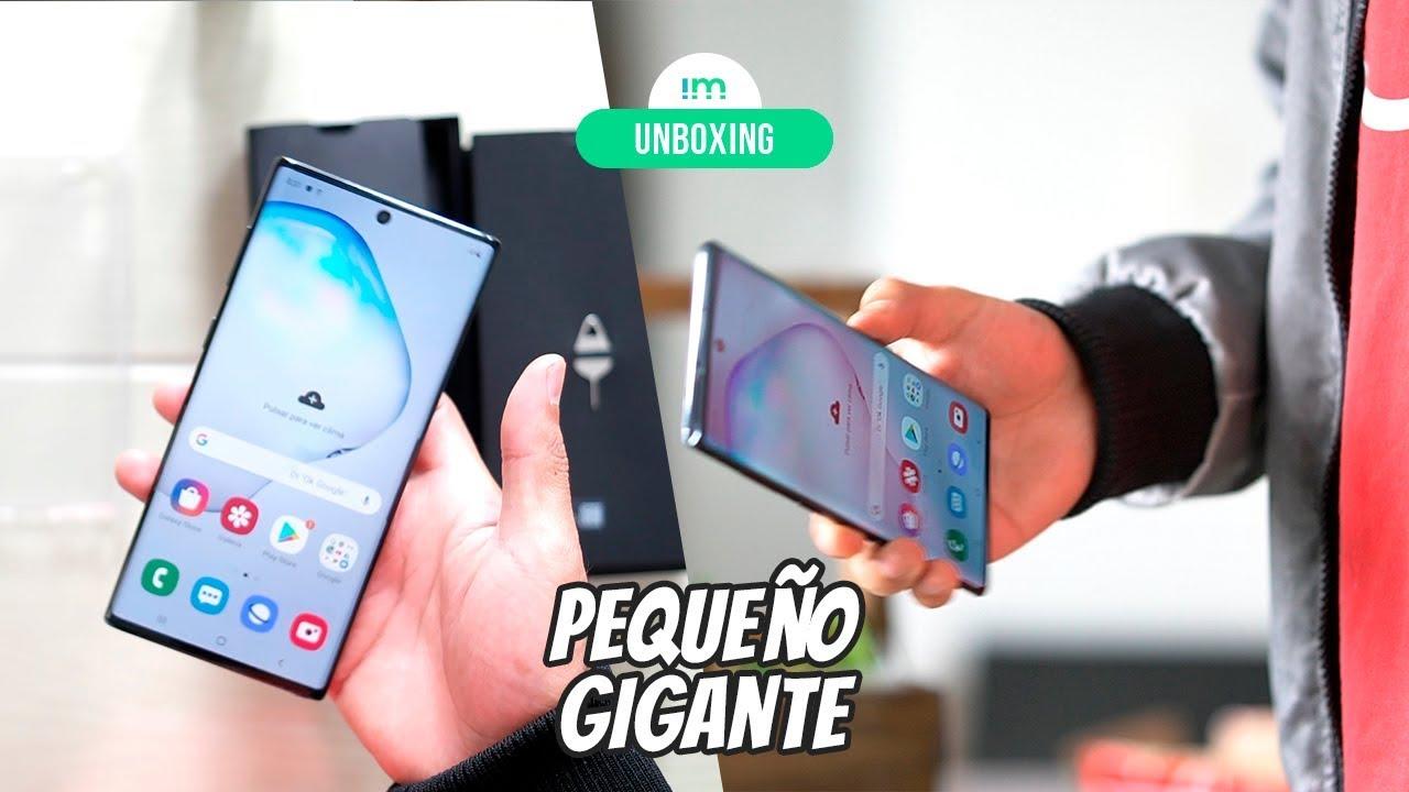 Samsung Galaxy Note 10 | Unboxing en español