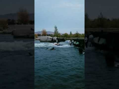 Boise River Wave Stand Up Paddle Boarding SUP
