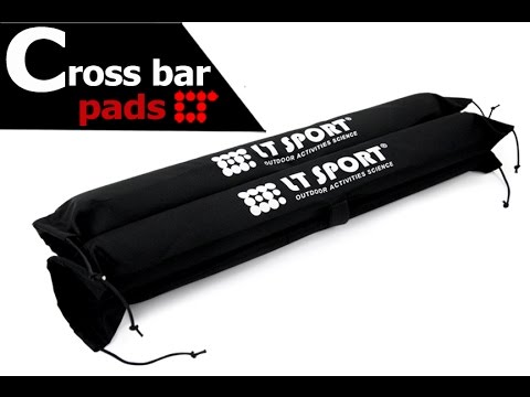 Soft Wrap Pad for Roof Rack Cross Bars Installation Guide by LT Sport  SR-ST-2400