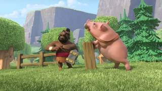 Clash Of Clans NEW Ride of the Hog Riders ANIMATION! Clash Of Clans TV Commercial