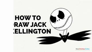 How to Draw Jack Skellington in a Few Easy Steps: Drawing Tutorial for Kids and Beginners