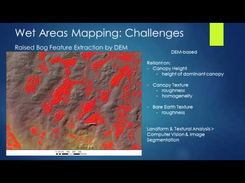 Jae Ogilvie: Challenges in Modelling Bogs, Wet Areas Mapping