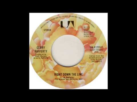 Gerry Rafferty - Right Down The Line (US Single Edit)