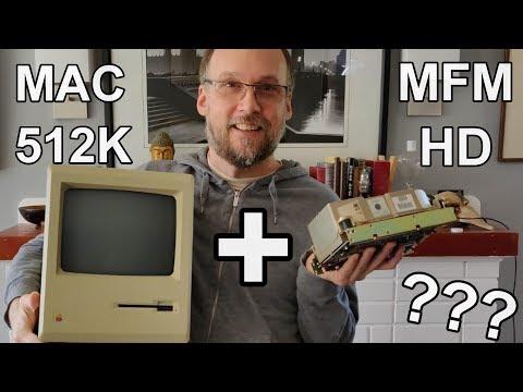 Macintosh 512K With An Internal MFM Hard Drive?