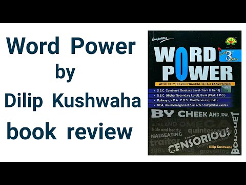 Word Power Book review written by Dilip Kushwaha Dastak Career coching Allahabad - AK Study Point