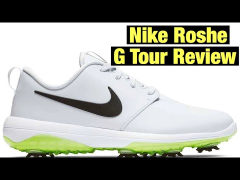Nike Roshe G Tour Golf Shoes Review Youtube