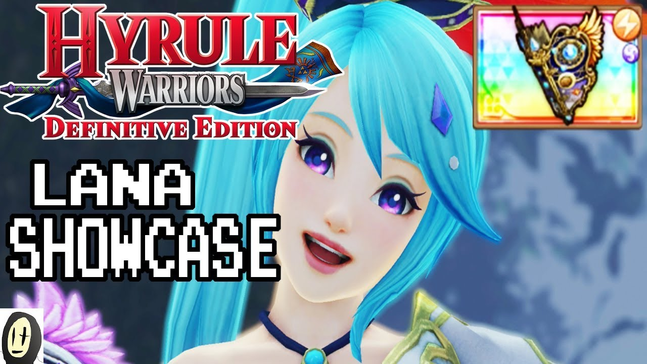 Hyrule Warriors Definitive Edition Lana Magical Tome Showcase Lv 4 Weapon Youtube