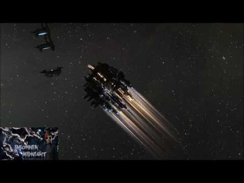 Eve Online - Battle Of Anchauttes Fleets - 400 Ships Battle