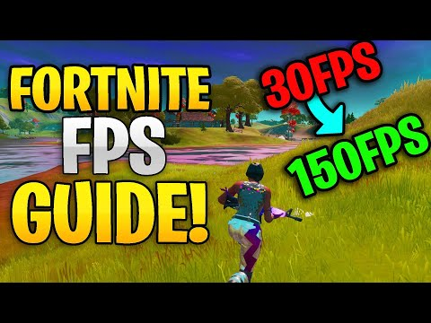 How To *FIX* Low FPS Lag Stutters And INCREASE FPS In Fortnite Chapter 2 | FPS GUIDE