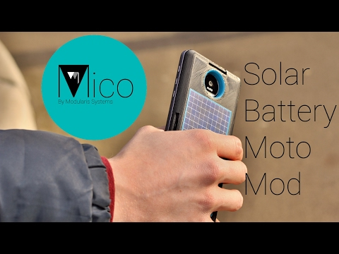 Mico with Snap Panels Indiegogo Trailer