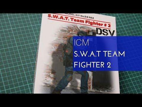 ICM 1/24 SWAT Team Fighter 2 (24102) Review