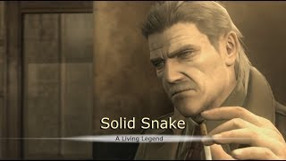Metal Gear Solid 4 Trailer | Phantom Pain Style