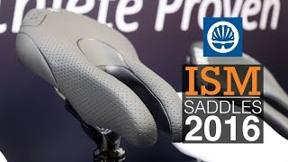 ISM's distinctive range of saddle designs are claimed to be more co...