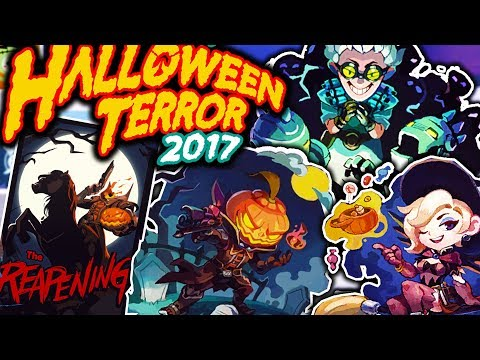 OVERWATCH HALLOWEEN TERROR EVENT SPRAYS! HOW TO GET ALL OF THEM ...
