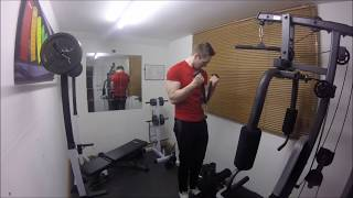 Quick Full Body Home Gym Workout
