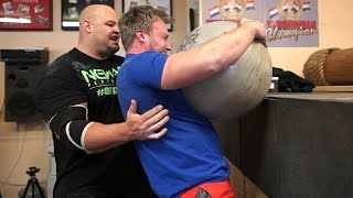 How To Be The World's Strongest Man | Arnold Strongman Classic Event Training | Part 3 w/ Brian Shaw