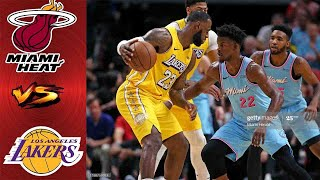 Los Angeles Lakers vs Miami Heat FULL Highlight 2nd QTR | Game 1 NBA Finals | NBA Playoff 2020
