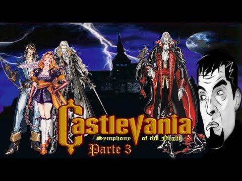 CASTLEVANIA SYMPHONY OF THE NIGHT - Pt.3 #Jogos da minha história