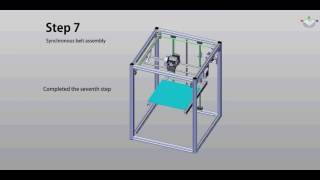 flyingbear p902 metal 3d printer kit assembly 07