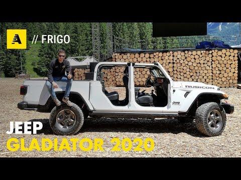 Jeep Gladiator 2020 | Anteprima europea del nuovo pick-up americano