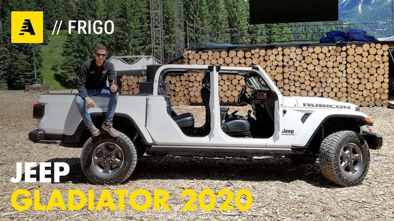 Jeep Gladiator 2020 Anteprima Europea Del Nuovo Pick Up