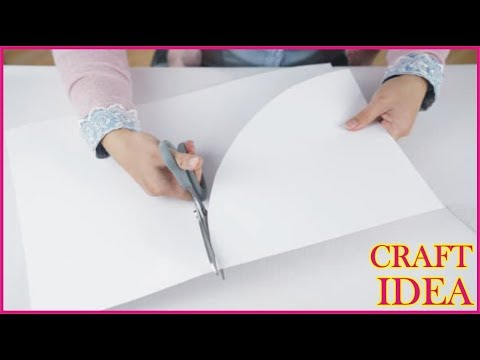 how-to-make-easy-white-paper-home-decoration-idea-|-simple-craft-by-golden-hacks