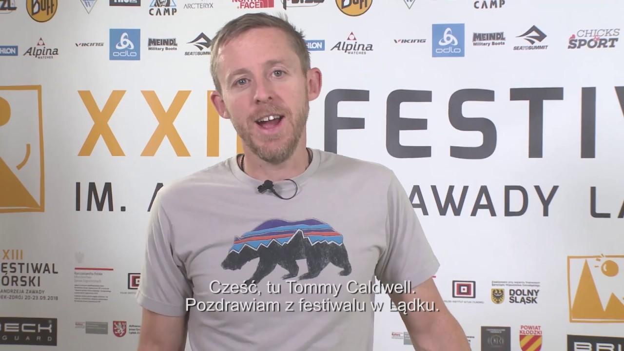 Tommy Caldwell zaprasza na pokazy Dawn Wall w polskich kinach