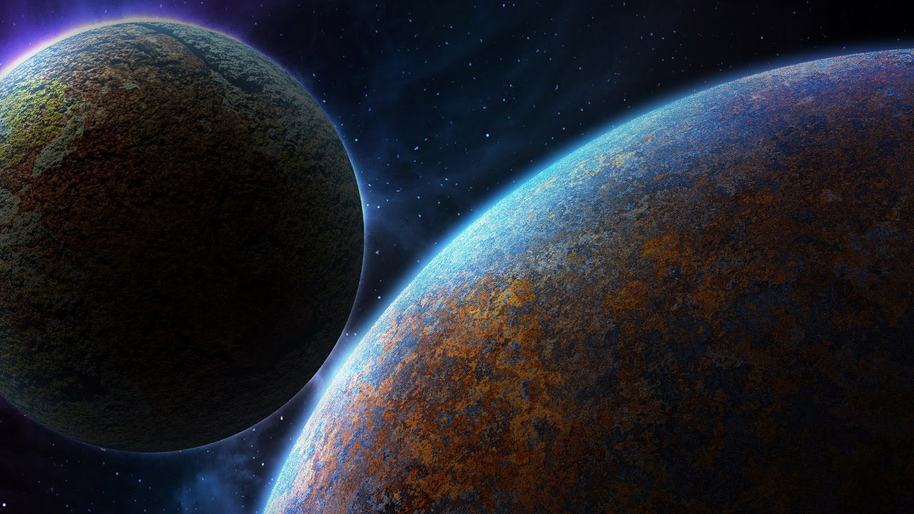 Sci fi space scene photoshop tutorial youtube for Space tutorial