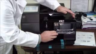 HP Officejet Pro 8620 Unboxing & Setup