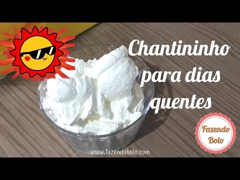 Cake Chantilly to Hot Days -