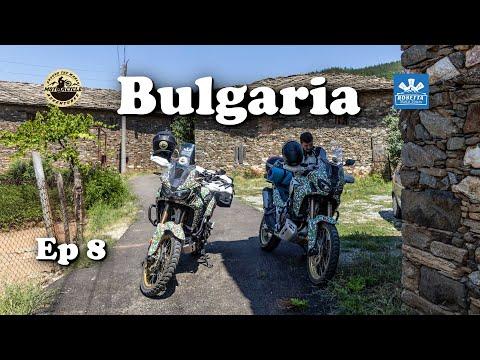 Ep 8 - Tatul & Mandritsa / Motorcycle Trip Bulgaria