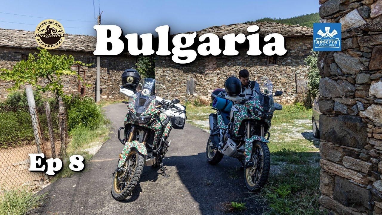 Ep 8 - Motorcycle Trip around Bulgaria / Tatul & Mandritsa