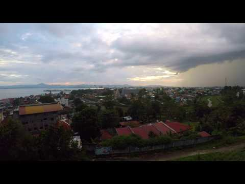 ORMOC CITY TIMELAPSE GOPRO HERO5 2017 with Awesome Rain