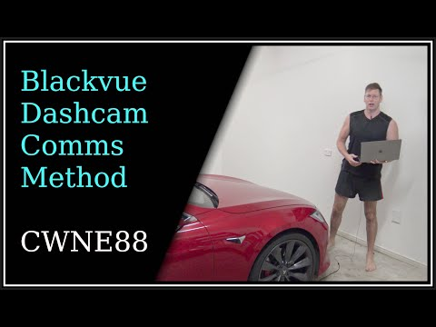 Blackvue Dashcam Communication Method