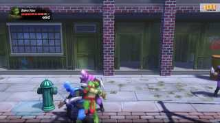 TEENAGE MUTANT NINJA: TURTLES IN TIME RE-SHELLED / XBOX 360 / Gameplay / Обзор игры / HD 1080