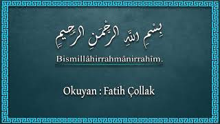 Fatih Çollak - 342.Sayfa - Mü'minûn Suresi (18-27)