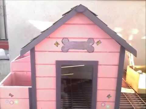 Tipos de casas de madera para perro youtube - Madera para casa ...