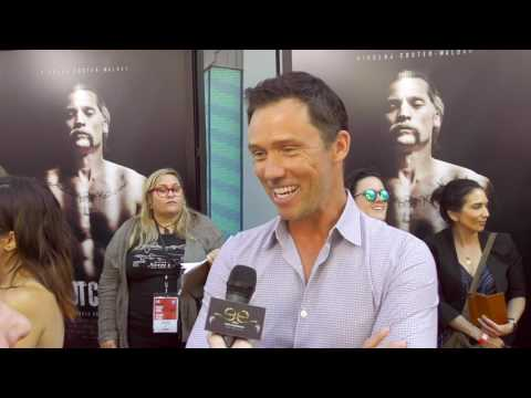 2017 Los Angeles Film Festival  Carpet Chat with Jeffrey Donovan