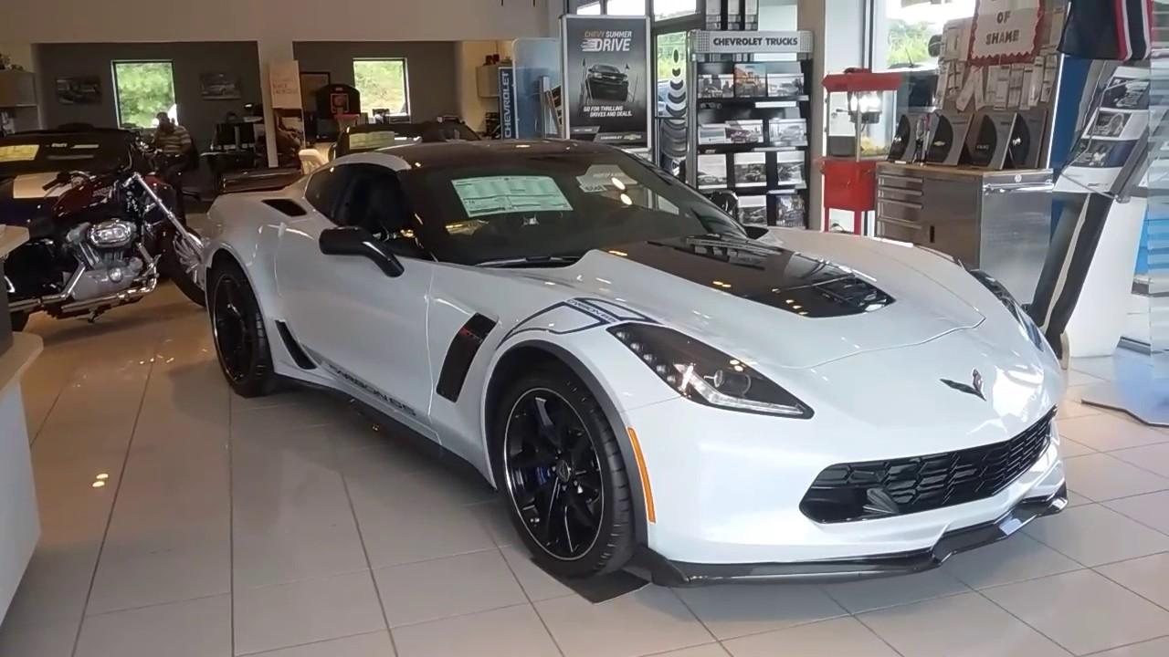 Jimmy Britt Chevrolet >> Your 2018 Corvette Z06 Carbon 65! - YouTube