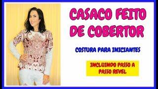 CASACO DE COBERTOR COM REVEL