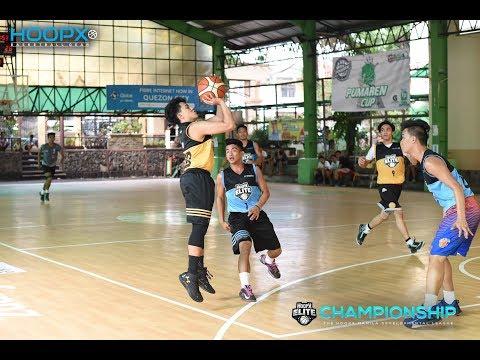 HoopX Elite Championship: Team San Juan VS Team Solid Quater Finals