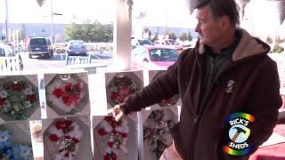 Handmade Christmas Memorials For Grave Sites, Cemetery Memorials - Ricks Sheds