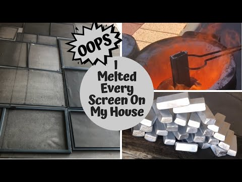 SHE LOCKED ME OUT 😡So I Melted Down Every window and door Screen On My House🤫