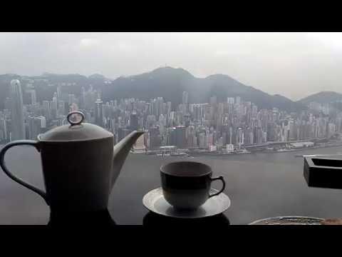 2016.7.6 Afternoon Tea at Ritz Carlton 102nd floor, Hong Kong