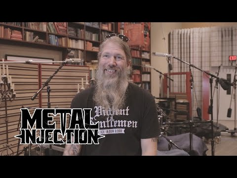"""AMON AMARTH Talks """"25 Years in the Eye of the Storm"""" DVD Release 