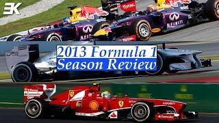 2013 Formula 1 Season Review: Red Bull, Mercedes and Ferrari