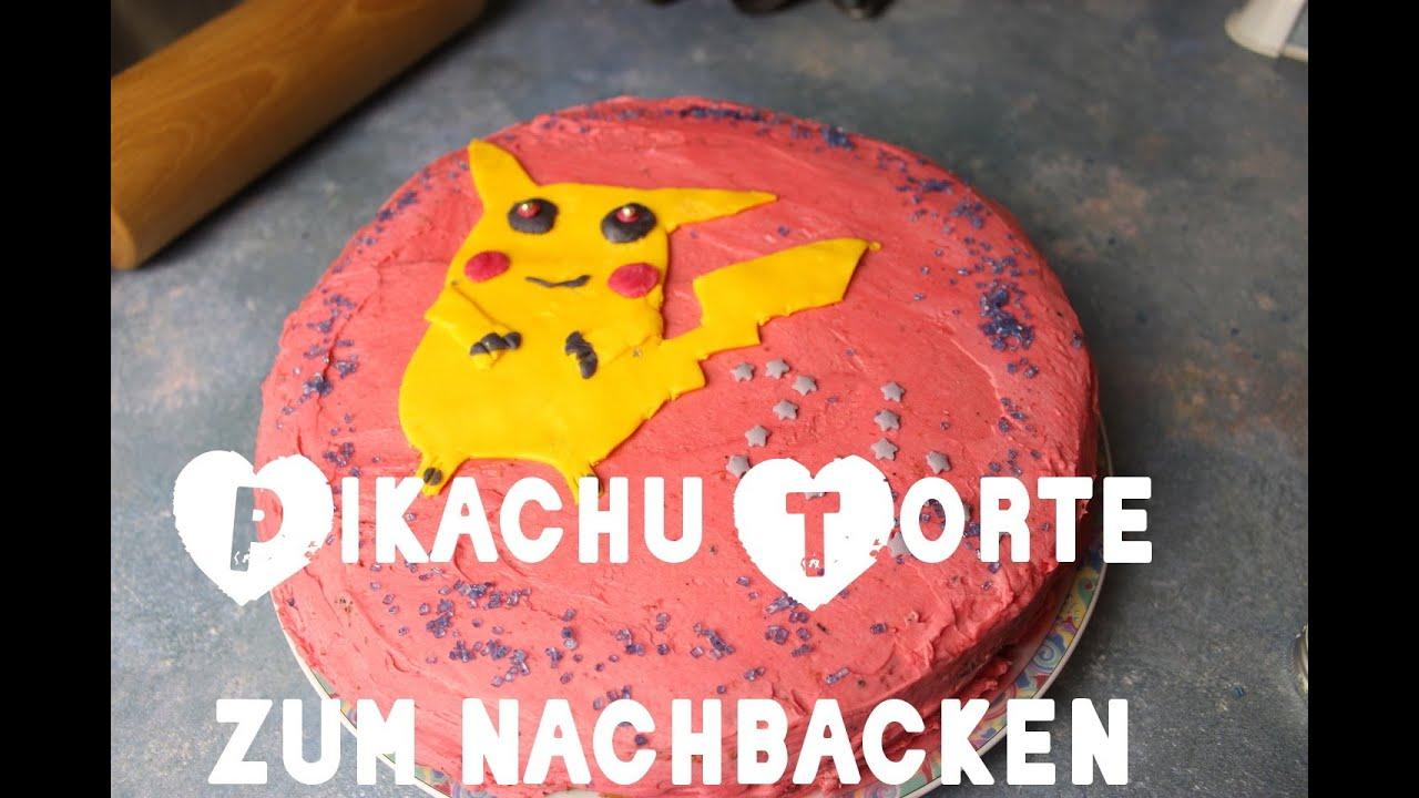 Pikachu Torte selbst gemacht ! - YouTube