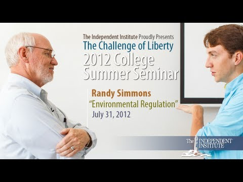 Randy T. Simmons: Environmental Regulation