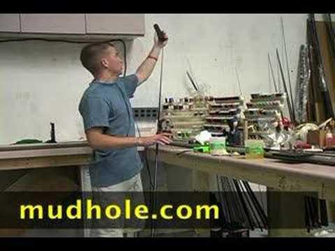 Fishing Rod Building: EVA Foam Handles