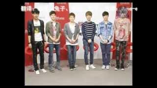 [ENG/FULL] 120413 EXO-M NetEase/Wang Yi Interview 网易访谈